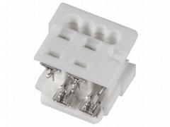 长江连接器1.27mm厂家直销90327-0304 90327-0306 莫仕连接器同等品 IDC插座