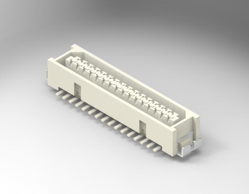 1.00mm Pitch 180° Foot SMT connectors  CJTconn DF9-41S-1V(32) DF9-51S-1V(32)