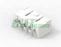 3.96mm 白色塑壳连接器 35156-0500 35156-0600环保连接器 长江连接器  3
