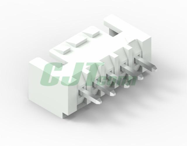 連接器 2.5mm 象牙色 立式貼片連接器  CJTA2512WR  6