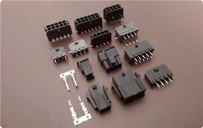 连接器 3.0mm线对线,线对板连接器 43045系列43645-0200 2