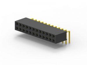 连接器厂家 1.27mm 2.0mm 2.54mm 排母连接器 4
