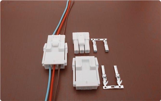 连接器 6.2mm线对板冰箱连接器电子连接器C6201  2