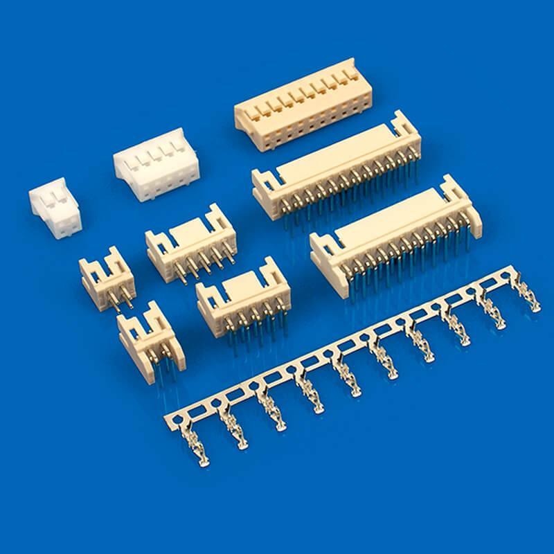连接器 A2006(PHD)2.0mm线对板电子连接器同等品 兼容PHDR-10VK PHDR-12VK  2