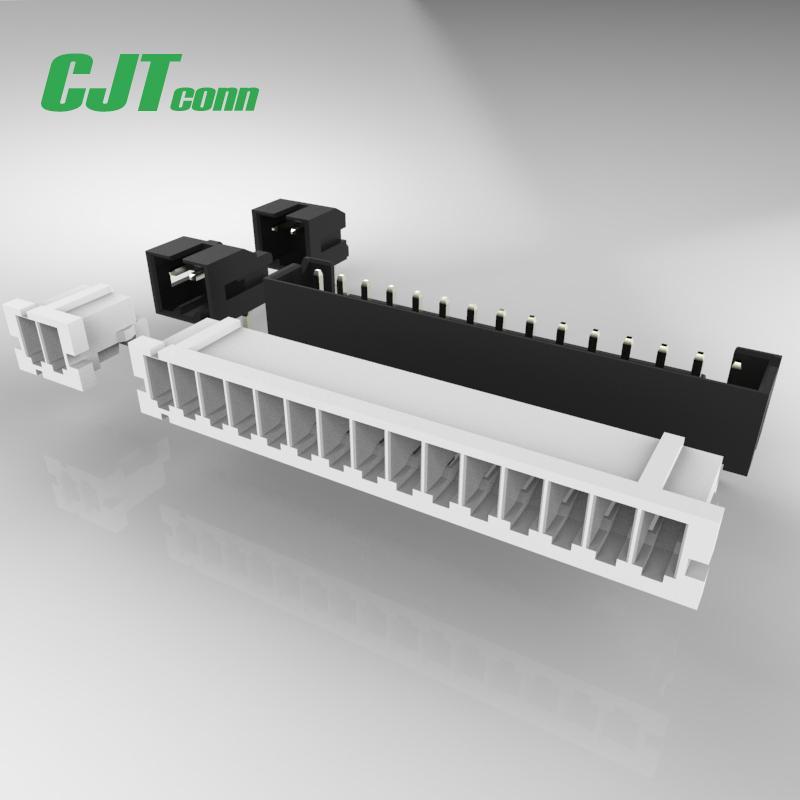 连接器 2.0mm等效Hirose A2011 CJT DF3 2.0公母对接插件端子胶壳 1