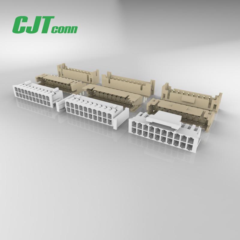 连接器2.0mm PHDA2006  CJT针座-立贴卧贴 FPC压接式家用连接器接插件 1