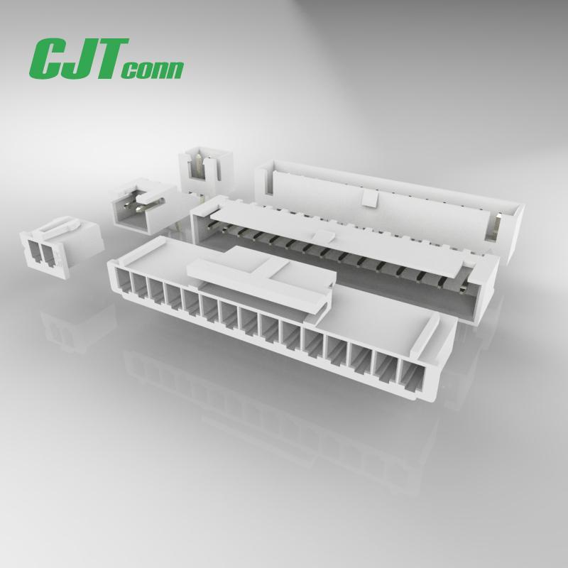 CJT长江连接器 A2512WR-S-XP 2.5mm 象牙色 卧式贴片连接器