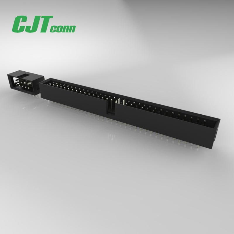 CJT conn 2.54mm pitch double connector Electronic male and female connector