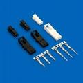 莫仕连接器 同等2.54mm A2547 705430003 针座连接器 4PIN 镀金 2