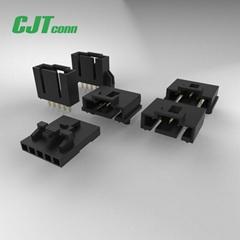連接器 2.54mm牛角 簡牛連接器 公母對接膠殼 CJT長江A2547