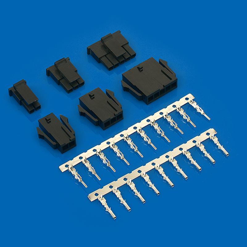 3.0mm 立式贴片连接器莫仕连接器同等品 43650-0524 43650-0624  3