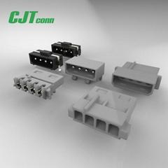 长江连接器5.08mm大四P连接器C5081(8981/LC) 线对板连接器