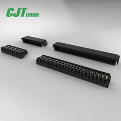 JST连接器同等品 0.6mm直插焊板端子 XSRS 刺破连接器