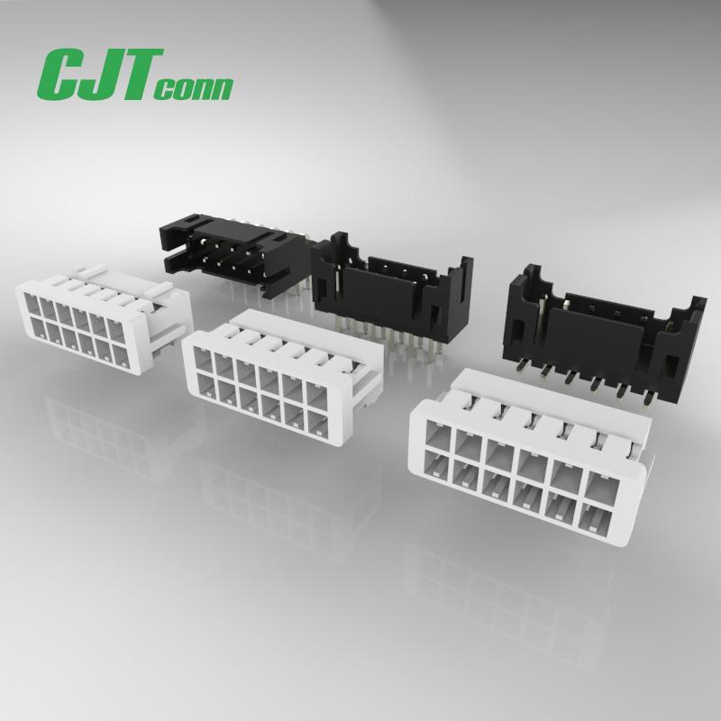 连接器 2.0mm PCB弯针插座 双排 DF11-4DS-2C DF11-6DS-2C 1