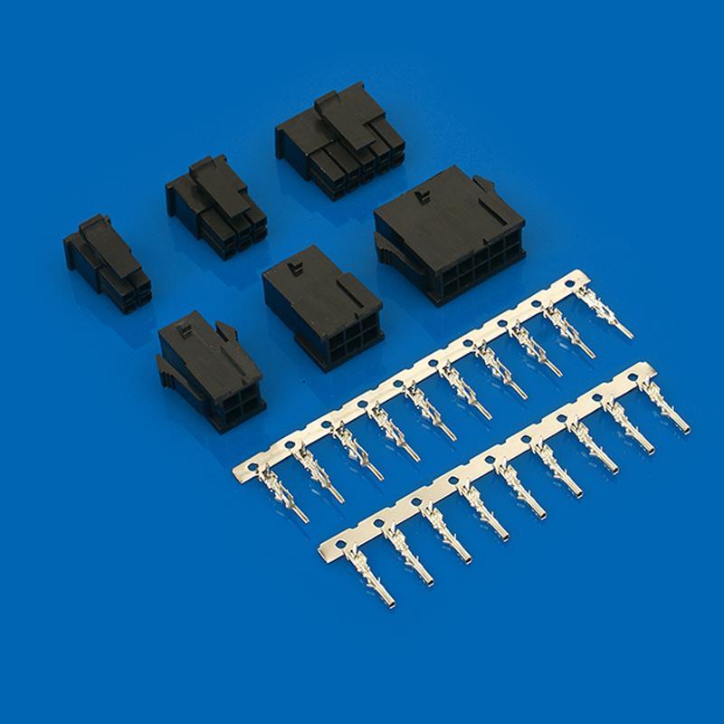 连接器 3.0mm线对线,线对板连接器 43045系列43645-0200 3