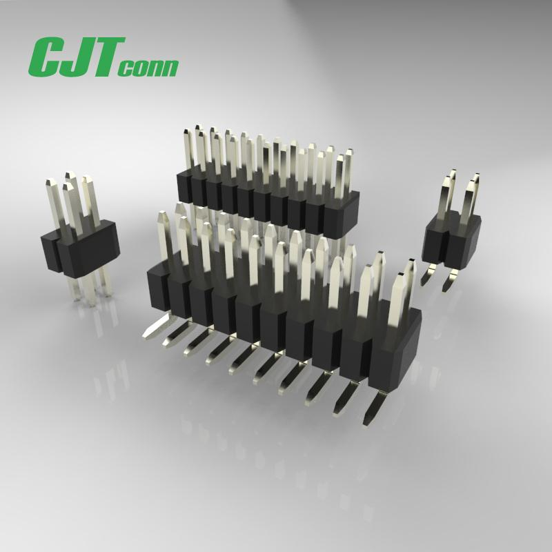 CJTconn connector company female header connectors 2.0mm 1.27mm 2.54 mm pitch