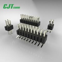 CJT长江连接器厂家 1.27mm 2.0mm 2.54mm 排母连接器