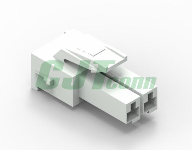 连接器 同等TE连接器 3.96mm白色针座 177898 电路板PCB板 1