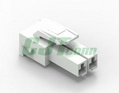 连接器 同等TE连接器 3.96mm白色针座 177898 电路板PCB板