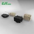 6.35mm 防水连接器1-480698-0 1-480700-0 TE连接器同等品  2