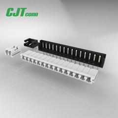 JST电子连接器 EHR-2 EHR-3 胶壳2.5mm间距 直插连接器接插件
