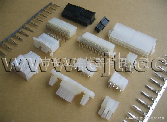 厂家直销4.2mm家用电器C4201连接器线对板 线对线连接器 长江连接器 2