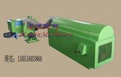 Auto feeding ball fiber machine