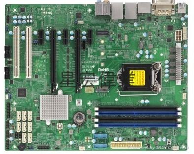 單路 超微X11SAE 支持 E3-1200V5 DDR4內存1151 工作站服務器主板 1