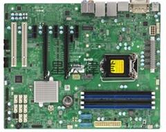 單路 超微X11SAE 支持 E3-1200V5 DDR4內存1151 工作站服務器主板