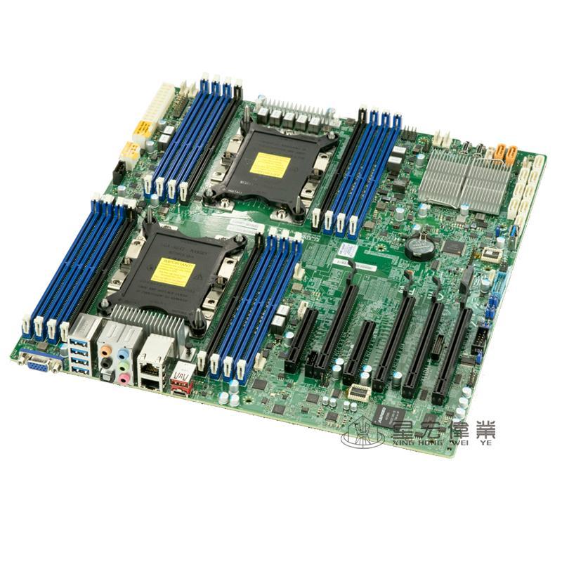 超微X11DAi-N LGA3647 雙路主板工作站 C621服務器Xeon Scalable 2