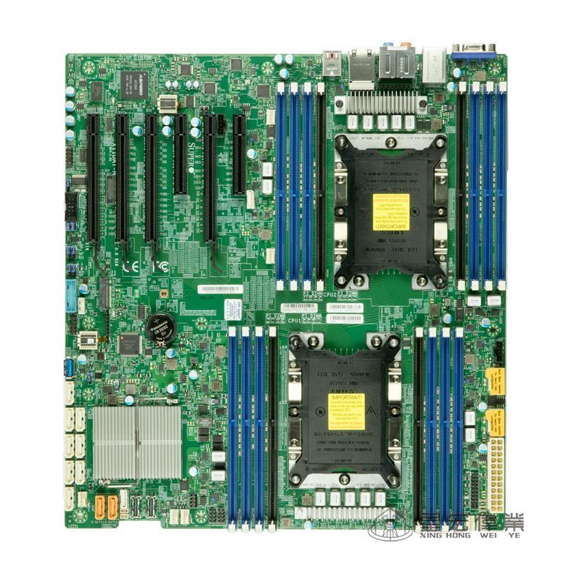 超微X11DAi-N LGA3647 雙路主板工作站 C621服務器Xeon Scalable 1