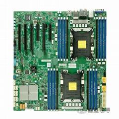 超微X11DAi-N LGA3647 雙路主板工作站 C621服務器Xeon Scalable