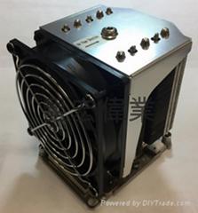 超微SNK-P0070APS4散热器LGA 3647 4 u系列服务器适用X11DAi-N