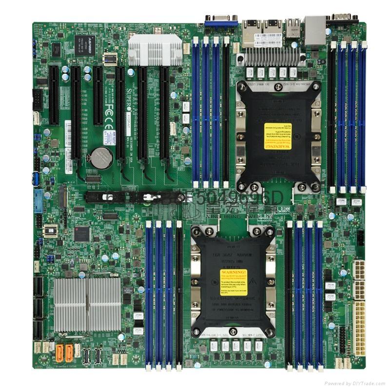 Supermicro超微 X11DPI-N 雙路服務器主板 LGA 3647E-ATX主板 1