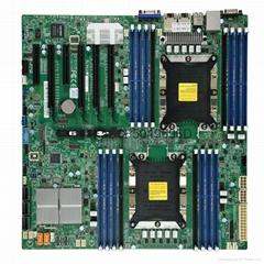 Supermicro超微 X11DPI-N 雙路服務器主板 LGA 3647E-ATX主板