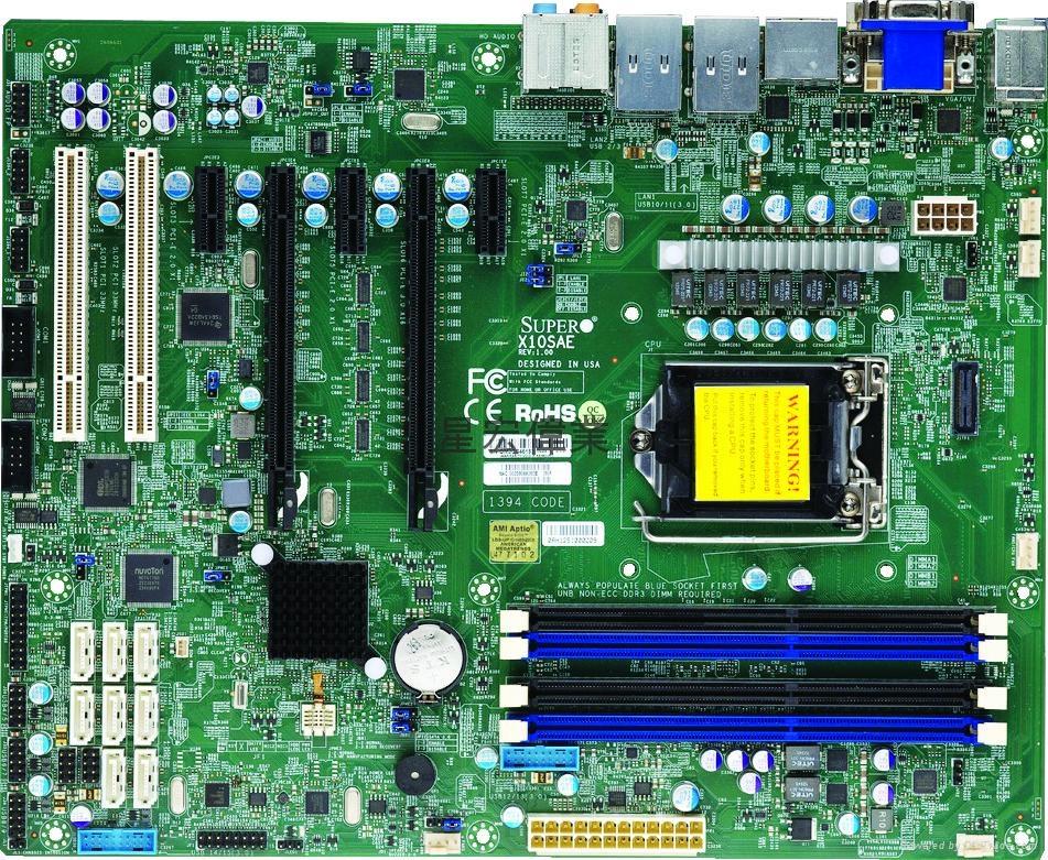 超微 X10SAE單路圖形工作站主板 1