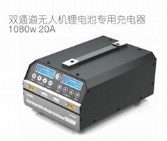 SKYRC PC1080 双路大功率平衡充电器