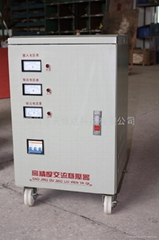 Three-phase AC voltage stabilizer