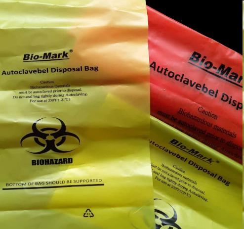 Bio-Mark耐高溫高壓生物危險品處理滅菌垃圾袋 1