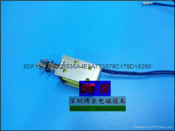 寵物用品用直流電磁鐵BYP-0630 1