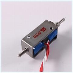 新能源充电枪电磁铁BYK-0735|直流保持式电磁铁|双稳态电磁铁