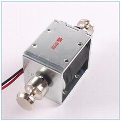 門禁系統用卡位推拉式電磁鐵BYP-1853|全高閘機電磁鐵