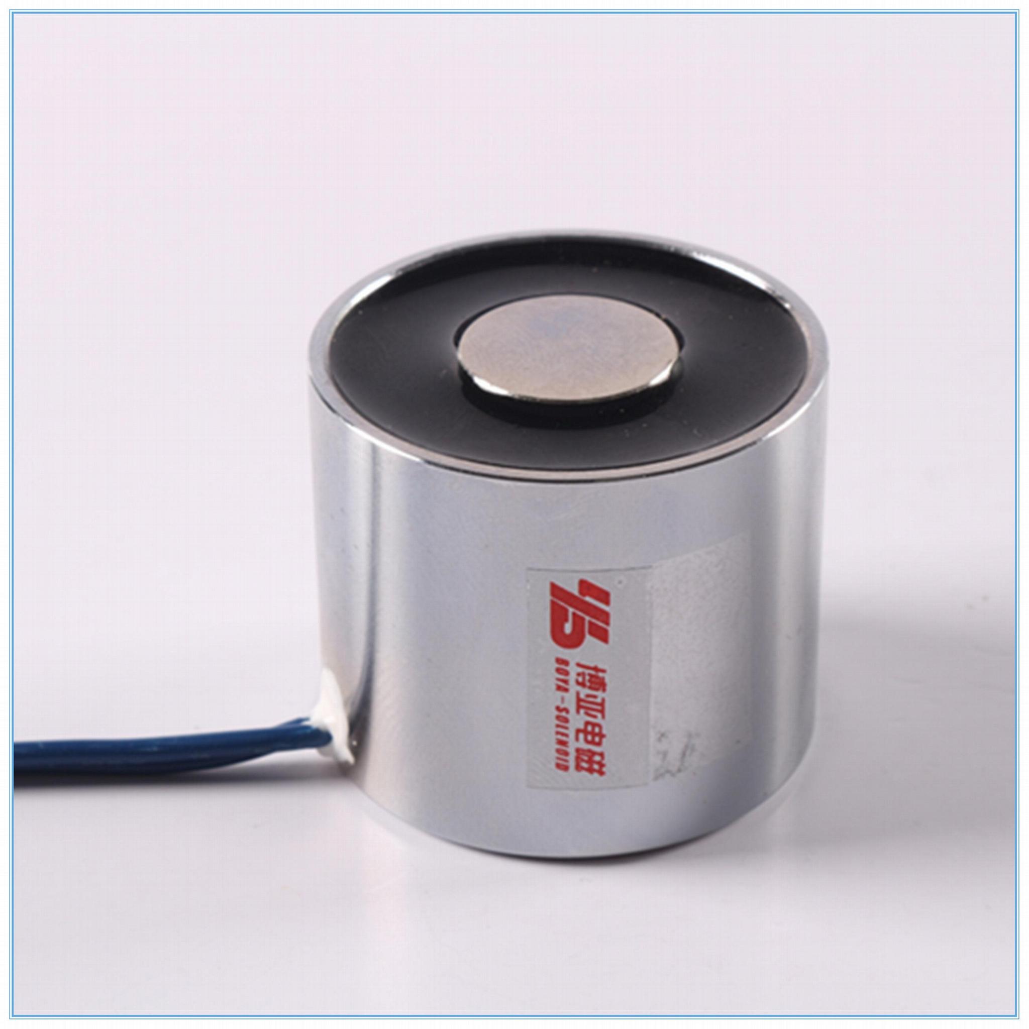 三輥閘用吸盤電磁鐵BYH-3530 落杆電磁鐵 4