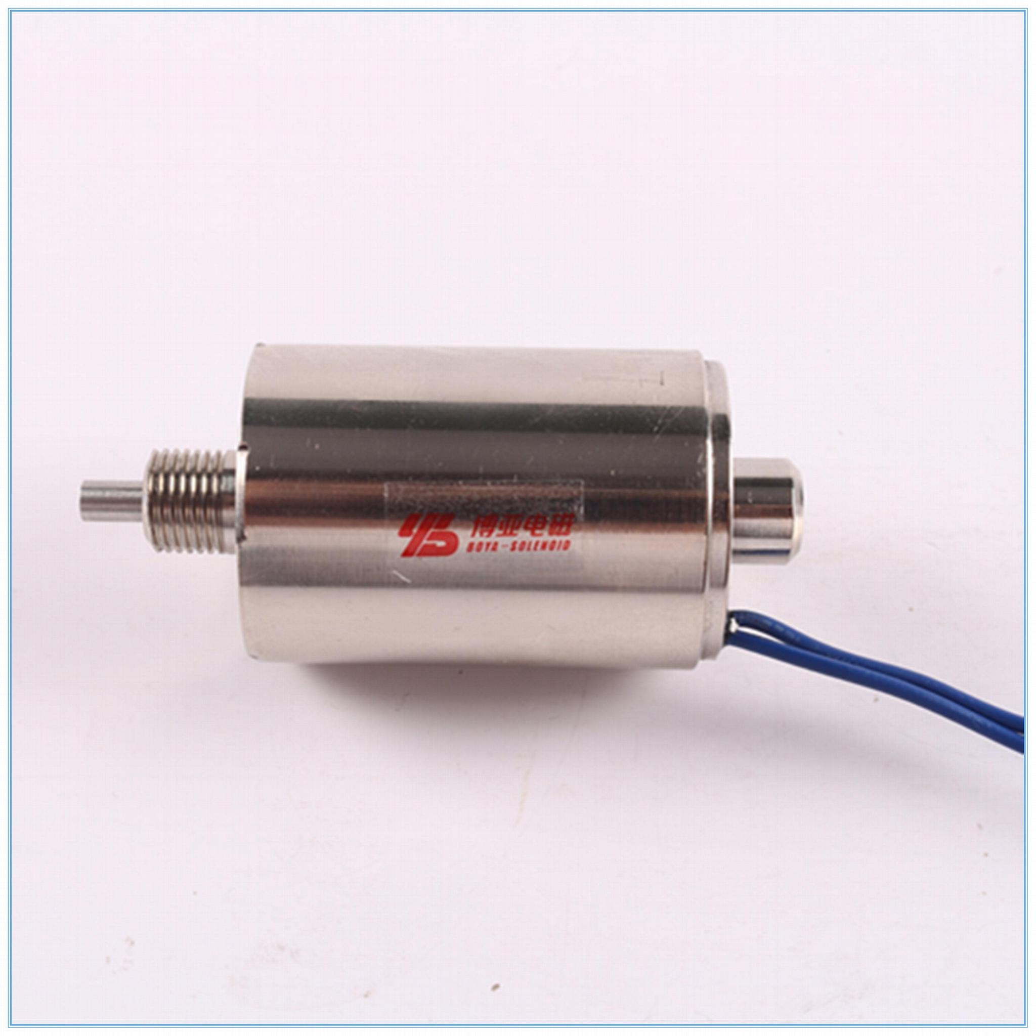 工控自動化用圓管電磁鐵BYT-4040 2