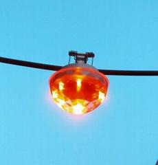 高压架空线路带电警示装置带电显示器