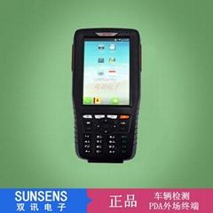 ST318 機動車檢測外場PDA終端/車管所上線檢測外場信息錄入