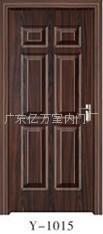 優質電解鋼板鋼木門億萬品牌