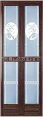 鋁合金小折疊門