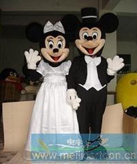 卡通婚庆米老鼠