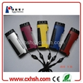 2013 hot sale LED emergency flashlight with compass